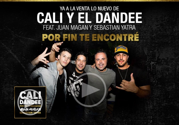 Cali Y El Dandee Ft Juan Magan y Sebastian Yatra - Por Fin Te Encontre noticias ipauta tebanmusic 2016