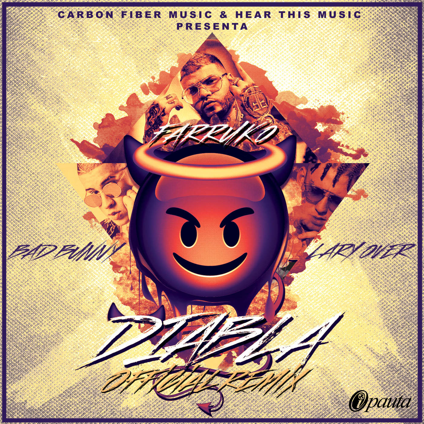 Download: Farruko Ft. Bad Bunny Y Lary Over – Diabla (Official Remix) (Trap)