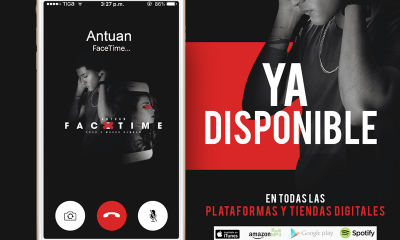 Disponible en todas plataform digitales Antuan - Facetime