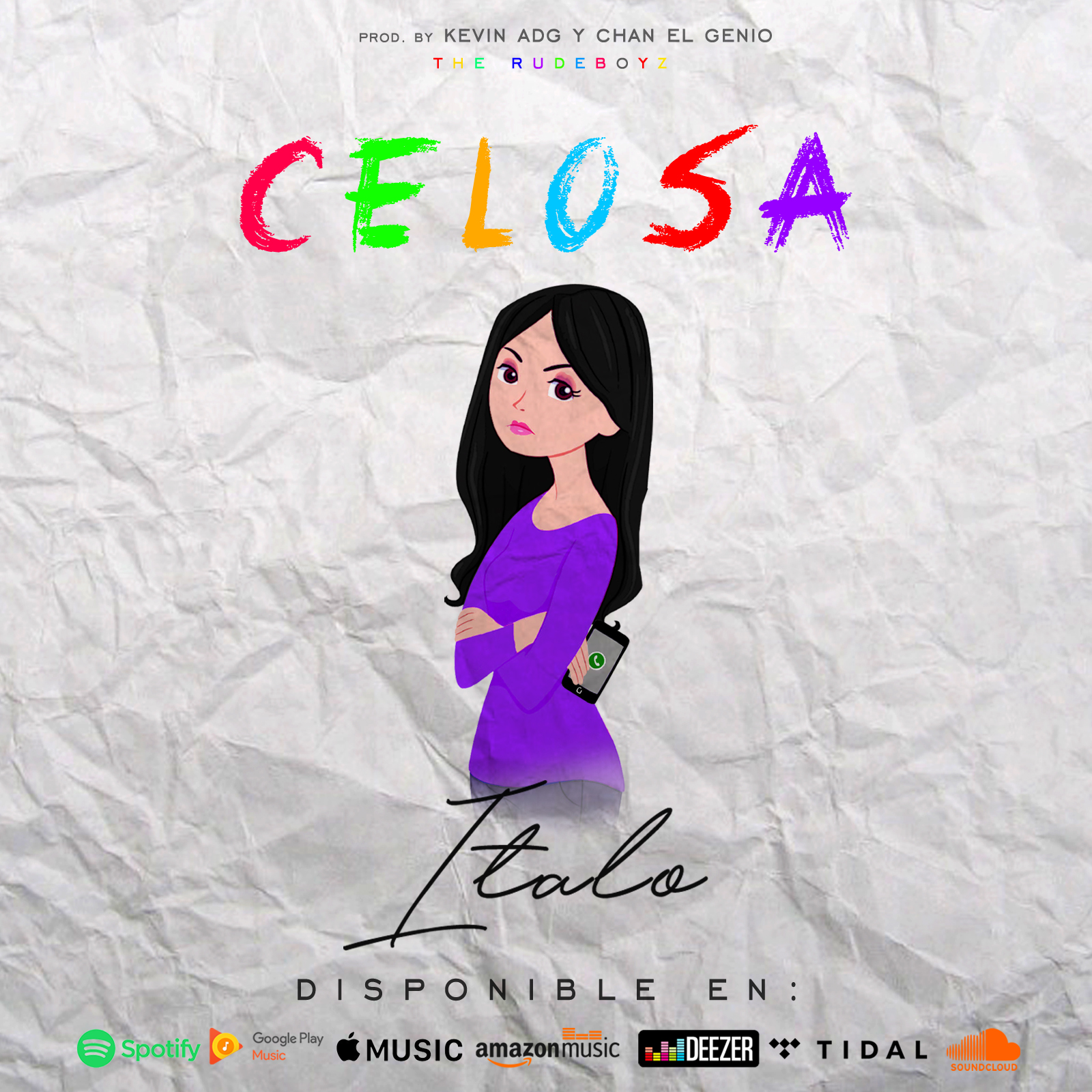Cover Italo - Celosa Tiendas Digitales Spotify iTunes Amazon Apple Music Deezer Pandora Shazam